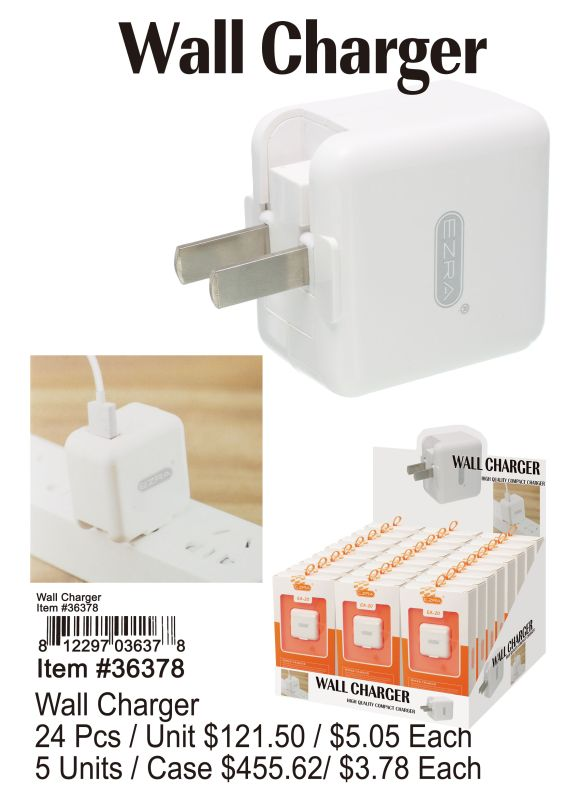 Wall Charger - 24 Pieces Unit