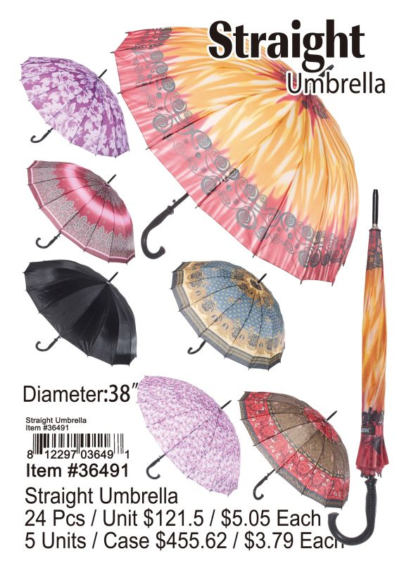 Straight Umbrella Wholesale