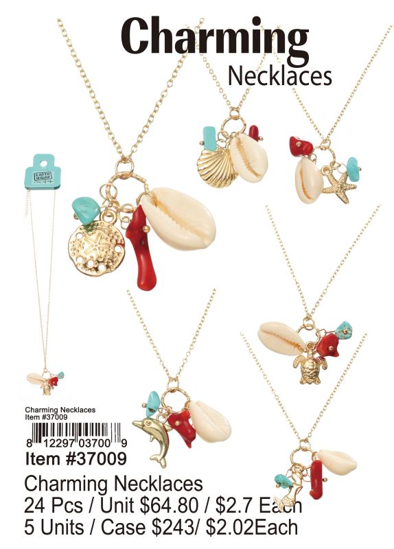 Charming Necklaces - 24 Pieces Unit