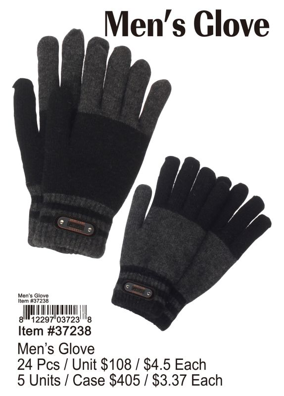 Mens Glove - 24 Pieces Unit