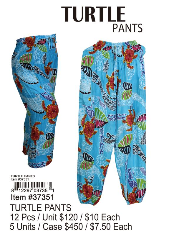 Turtle Pants - 12 Pieces Unit
