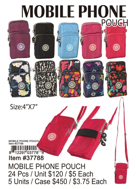 Mobile Phone Pouch - 24 Pieces Unit