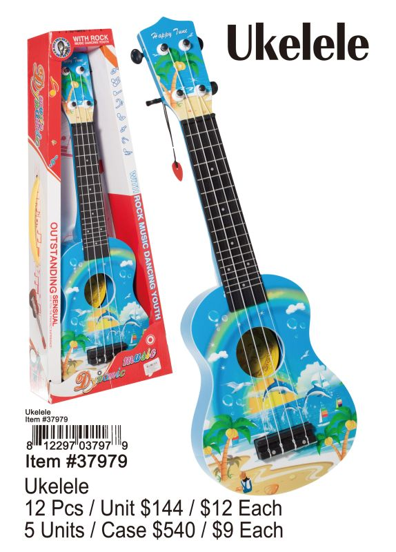 Ukelele - 12 Pieces Unit