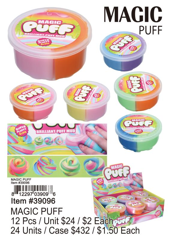 Magic Puff - 12 Pieces Unit