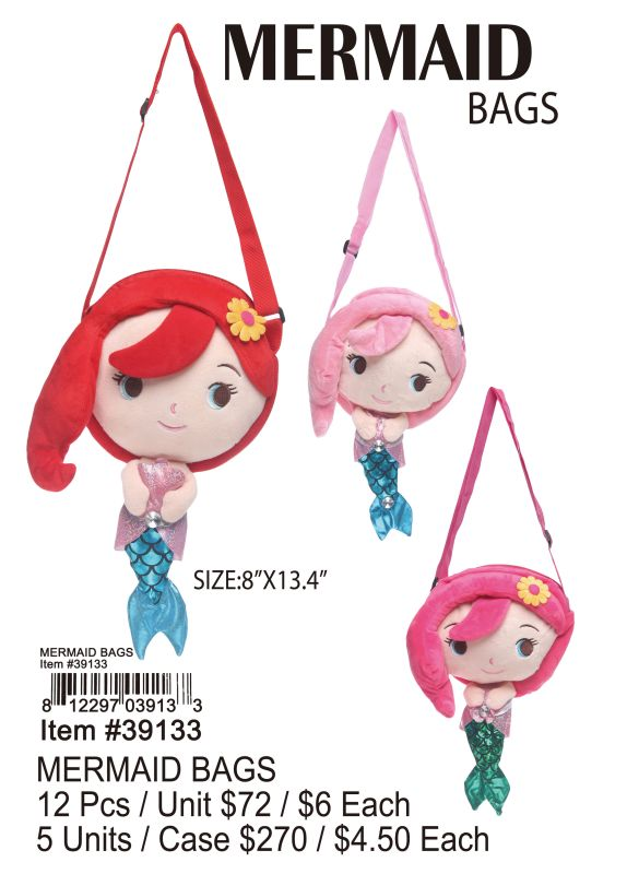 Mermaid Bags - 12 Pieces Unit